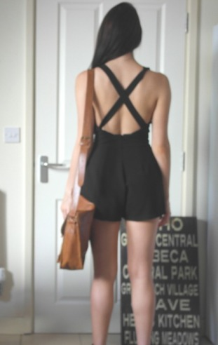 Topshop playsuit