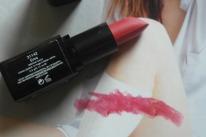 Pink lips...