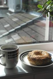 A very New York breakfast :-)