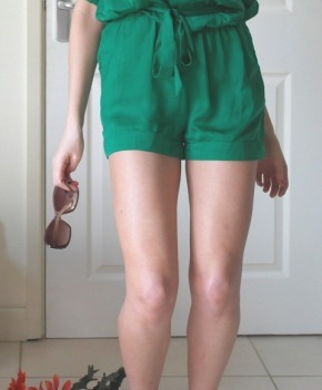 Today I'm Wearing: Green Glorious Green