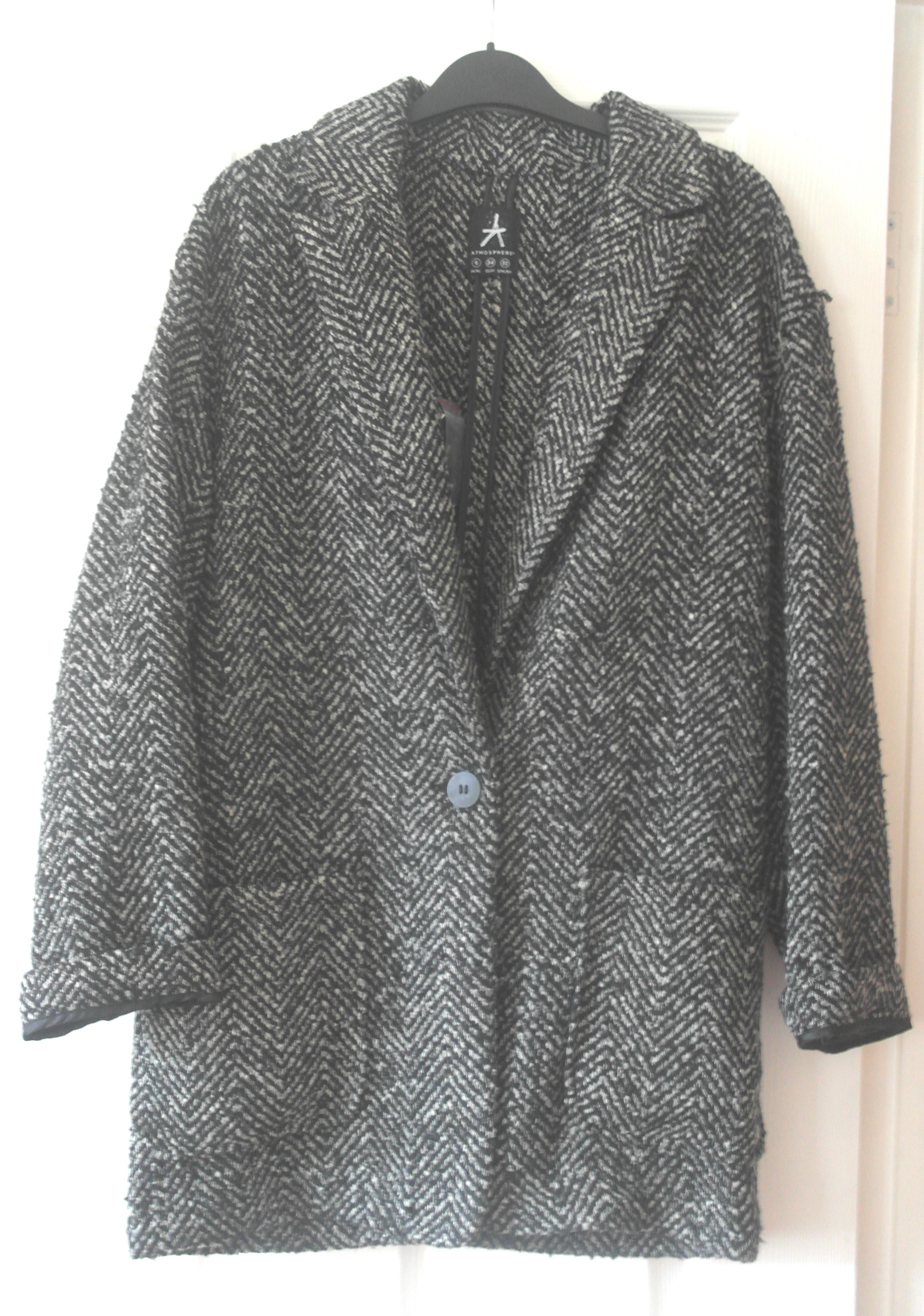 the grey boyfriend coat in a frenzy and a dream #0: 008