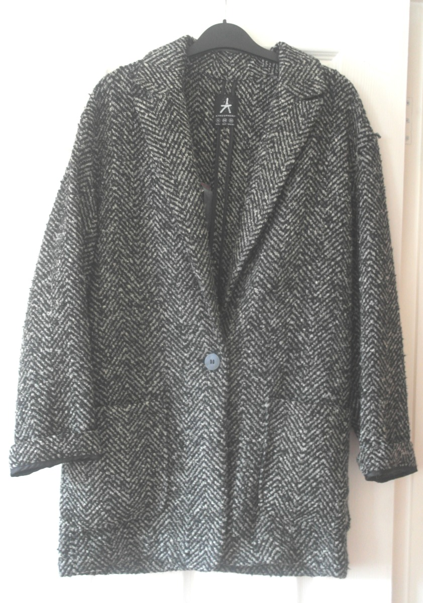 The Grey Boyfriend Coat.