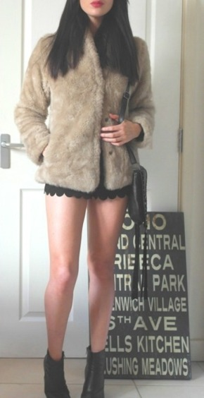 Today I'm Wearing: Furrrrrr