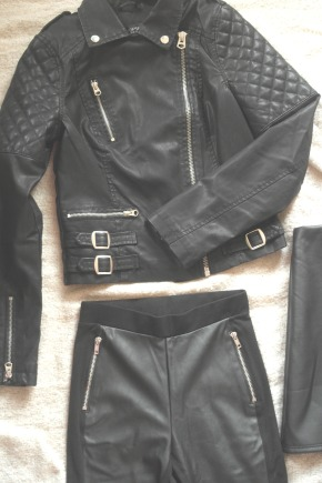 In 2014, I'll Mostly Be Wearing Leather…