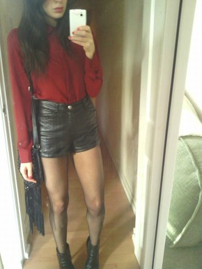 Leather & Red